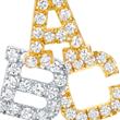 Oprah Winfrey Selects Red C Jewels' Diamond Initial Earrings for Oprah's Favorite Things 2014