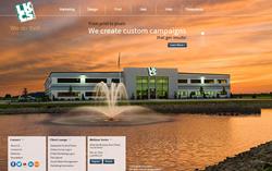 Screen Capture of New LKCS Web Site