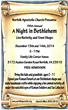 Event in Norfolk | Norfolk Event | A Night in Bethlehem
