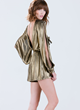 """Disco Fever"" Gold Romper"