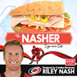 "Harris Teeter Unveils Carolina Hurricanes Riley Nash's ""The Nasher"" Signature Sub Sandwich"