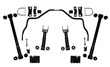 Speedtech Rear Suspension Kit for 1964-72 GM A-Body