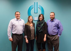 L to R: Scott Maher, CEO of Retail Success,LLC, Ella Wirtz and Courtney Rodgers, Co-founders of Boutique Window and Shannon Maher, COO of Retail Success, LLC.