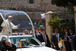 Pope Francis in Bethlehem