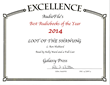 Best Audiobook of the Year for Audio Theater by Audifile Magazine