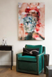 "Interior Designer Vanessa McBride Wows with TeedHaze ""Luxe Lounge""..."