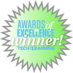 Tech and Learning award of excellence for RollBack Rx and Drive Vaccine