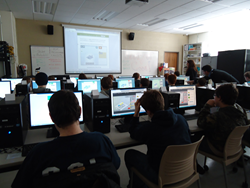 The Hour of Code is an international program designed to give students a hands-on experience in computer programming.