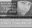 Robert Matthew 2014 Holiday Gift Guide Announced to Help You Find the...
