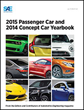New SAE International Book Offers Engineering Trends of 2014 Concept Cars and 2015 New Passenger Cars