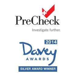 PreCheck Wins 2014 Silver Davey Award