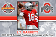 J.T. Barrett - CFPA Trophy Winner
