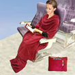 New Travel Blanket Designed for Comfort on Airline Flights