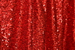 Red Sequin Fabric Backdrop