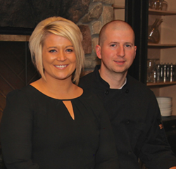 Alison and Sean St. Clair are the new owners of the Award-Winning John Palmers Bistro 44 in Concord Township.