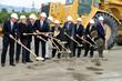 Officials break ground for the Loma Linda University – San Bernardino project.