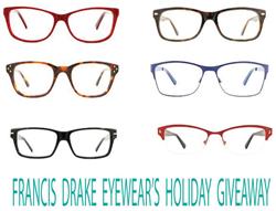 Free Eyeglasses from Francis Drake Eyewear