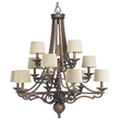 progress lighting p4569 transitional thomasville 12 light up lighting chandelier from the meeting street collection