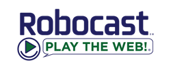 Robocast Play The Web Logo