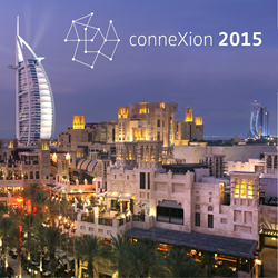 conneXion 2015, April 15-17, Dubai