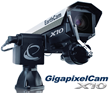The GigapixelCam X10 is capable of producing panoramas over 10 billion pixels in size