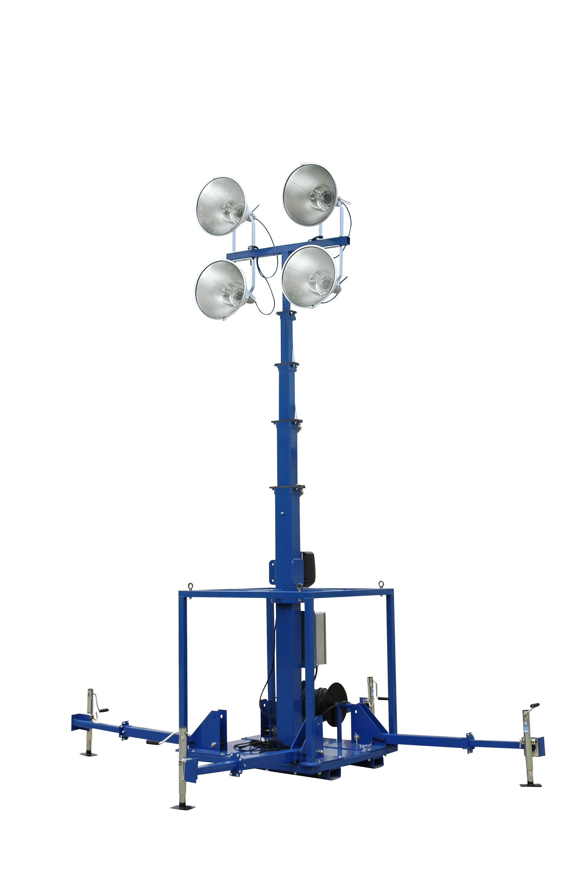 4000 Watt High Intensity Metal Halide Skid Mount Light