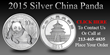RC Bullion Announces Release of 2015 Gold & Silver Chinese Panda Coins at Special Pricing