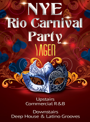 Rio Carnival Party at Yager Bar with 2 floors of music