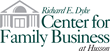 Richard E. Dyke Center for Family Business logo.