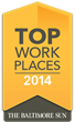 The Baltimore Sun - Top Workplaces 2014