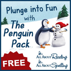 All About Reading, All About Spelling, Penguin Activity Pack