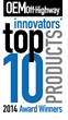 OEM Off-Highway™ Magazine Announces 2014 Innovator's Top 10 New Product Winners