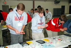 Lasallian Scholars Institute takes part in Cincinnati Lean Manufacturing Simulation