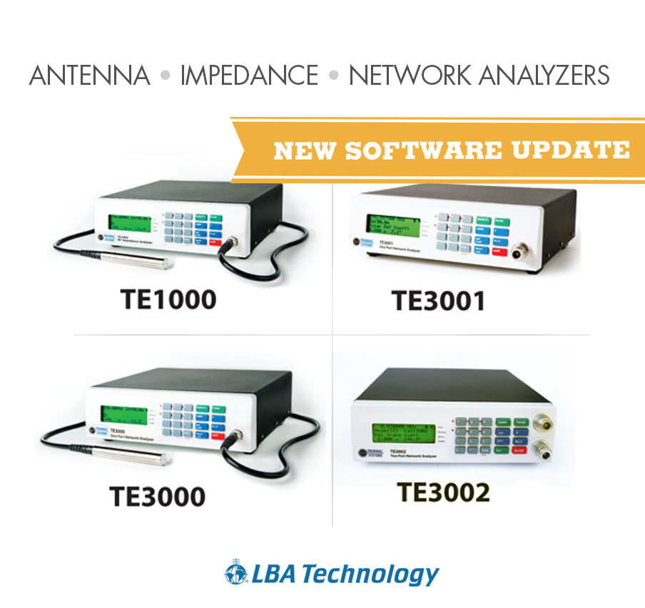 Network Analyzer Software : Lba offers new software upgrade for trewmac rf analyzers
