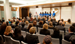 The Church of Scientology Los Angeles Hosts a Human Trafficking...