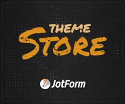 First every online theme store for web forms