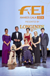 "Equestrian heroes were celebrated tonight at the glittering FEI Awards 2014, the ""Oscars of the equestrian world"", presented by Longines in Baku's fabulous Buta Palace (FEI/Liz Gregg)"
