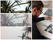 Andrew Denman drawing work in progress