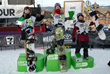 Monster Energy's Olympic Gold Medalist  Jamie Anderson Wins Women's Snowboard Slopestyle at the Dew Tour Winter Championships in Breckenridge