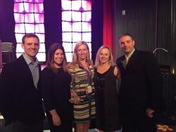 Performance Physical Therapy's Leadership Team Accepts Jayne L. Snyder Private Practice of the Year 2014