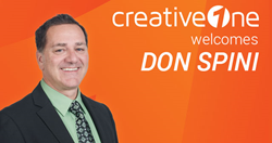 CreativeOne appoints Don Spini