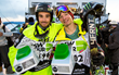 Monster Energy's David Wise and Kevin Rolland - second and third place Men's Freeski Superpipe at Dew Tour Winter  Championships Breckenridge