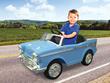 1957 Chevy Ride-On Sidewalk Car