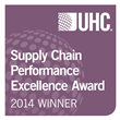 The University of Vermont Medical Center has been in first or second place for Supply Chain Performance in the past three years.