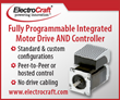 EC Integrated DC Motor Controller