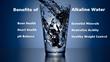 Alkaline Water Plus's benefits of alkaline ionized water.