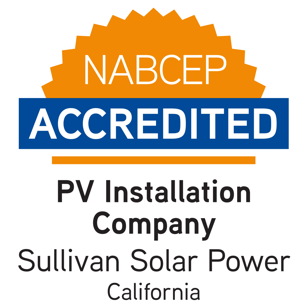 Sullivan Solar Power First And Only Professionally Accredited Solar
