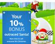 TelephoneJamaica.com offer outraced Santa: 10% bonus on all...