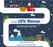 Early Christmas Gift from KeepCalling.com: 10% Voice Credit Bonus!