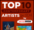 Artist Become Announces Top Ten Contemporary Artist for 2014
